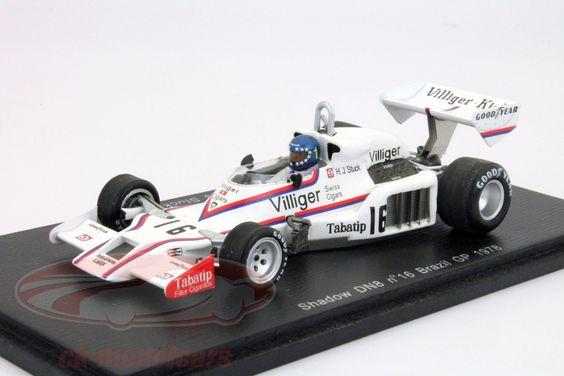 Hans-Joachim Stuck, Shadow DN8 #16 Brazilian GP Formula 1 1978 1:43 Spark #Top10 Model/Scale Cars Issue-01 | Gear X Head