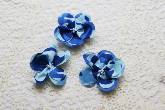 blue camoflauge fabric | Blue Camo Flowers Blue Camouflage Flowers Camo ... | Camouflage Wed…