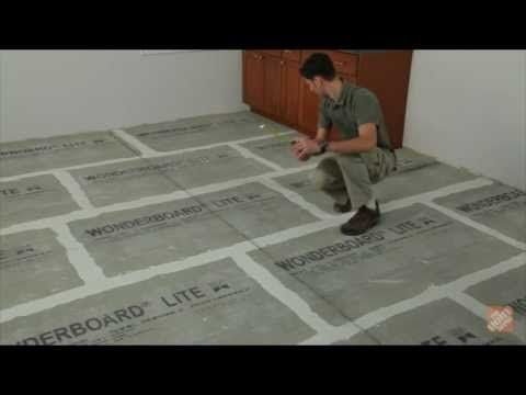 Installing Ceramic And Porcelain Floor Tile Step 1 Plan