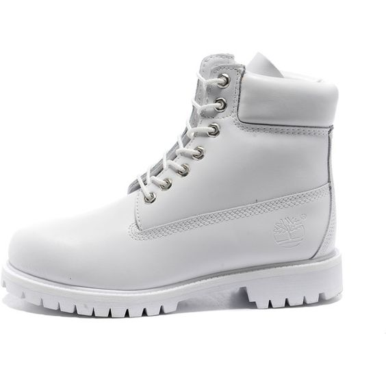 Images For > All White Timberlands - 18.7KB
