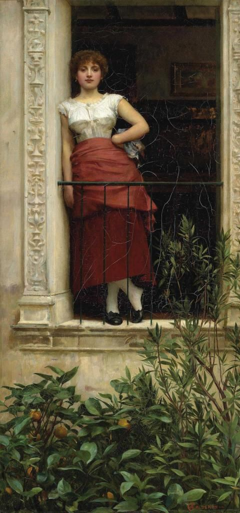 Phillip Hermogenes Calderon / A Rose Of Provence.