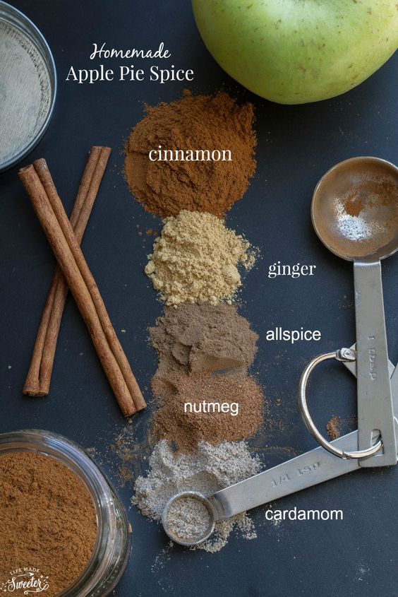 Apple pie spice, Homemade apple pies and Spice blends on Pinterest