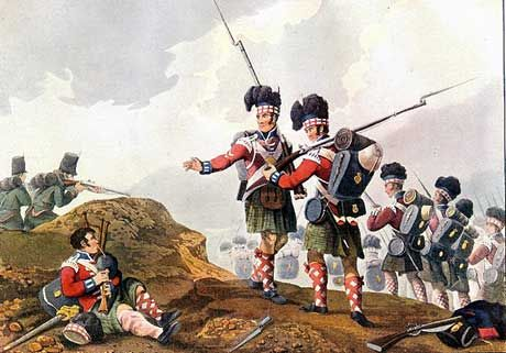 THE ROYAL SCOTS (The Royal Regiment of Scotland) HIGHLANDERS EN LA BATALLA DE VIMEIRO - 1808. Más en www.elgrancapitan.org/foro