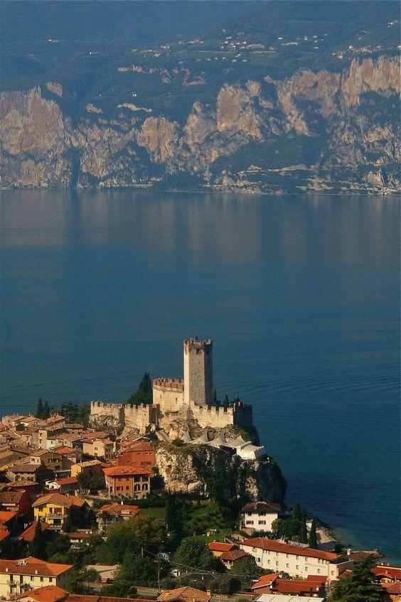 Malcesine Castle - Malcesine (Verona), Lake Garda, Veneto, Italy
