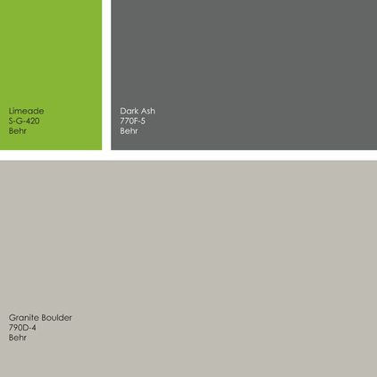 By Jennifer Ott Design Gray And Green Color Palette
