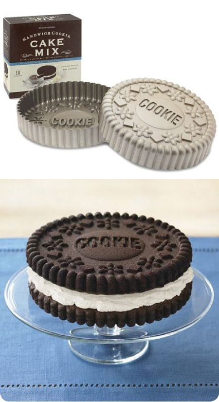 Oreo Lovers' Cookie Cake - can be bought at williams sonoma