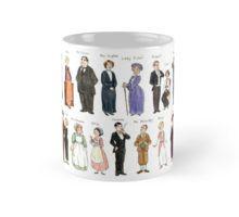 Downton Abbey portraits Mug