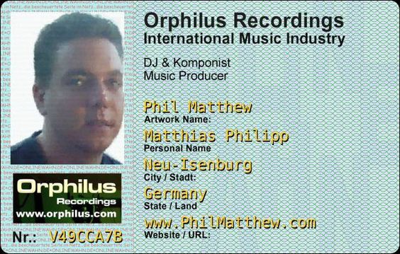 Phil Matthew at Orphilus Disco Mobile Live in the Mix