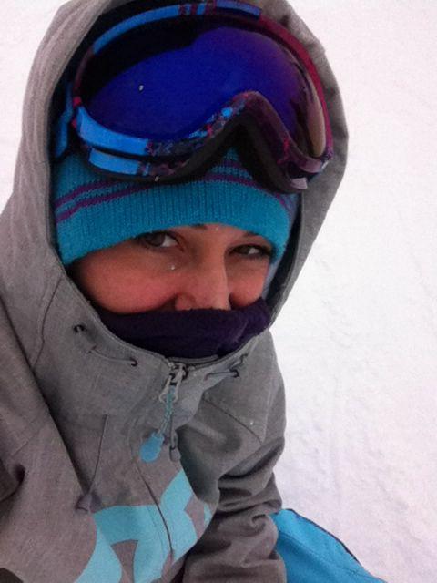 #myselfie #snow