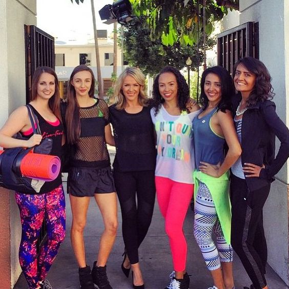 Lorna Clarkson & our US sporty sisters on KTLA 5 News!