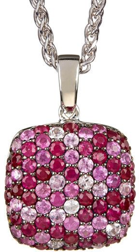 Effy Sterling Silver Gemstone Pendant Necklace