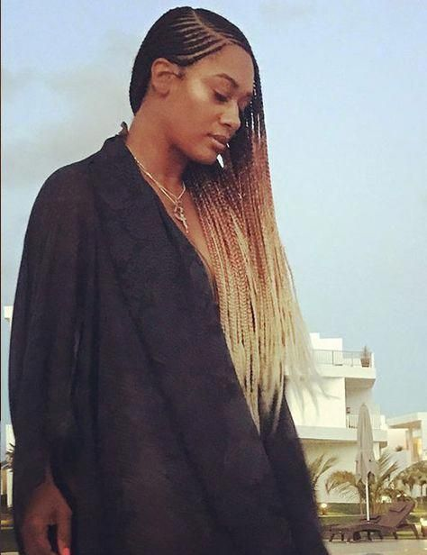 20 Uber Cool Ways To Style Your Micro Braids #coolafricanhairstyles