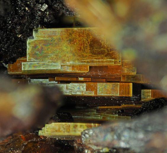 Rare radioactive Arsenuranospathite - Krunkelbach Valley, Menzenschwand, Baden-Württemberg, Germany