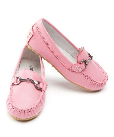 I think Im in love....Take a look at this Pink Loafer by SKEANIE on #zulily today!