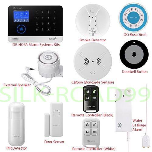 New Digoo 433mhz Wireless Accessor Smart Halloween Home Security Alarm Lot Home Security Alarm Wireless Home Security Systems Security Cameras For Home