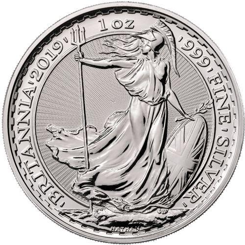 1oz Uk Britannia Silver Bullion Coin Silver Bullion Coins Silver Bullion Silver Coins