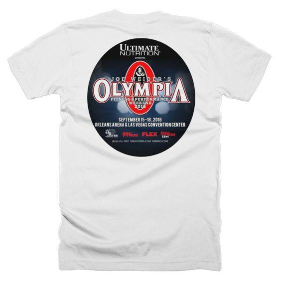 Men's 2016 Joe Weider's Olympia Classic Tee - Full Color Logo