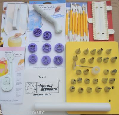 HUGE CAKE DECORATING FINISHING SUGARCRAFT CRAFT SET