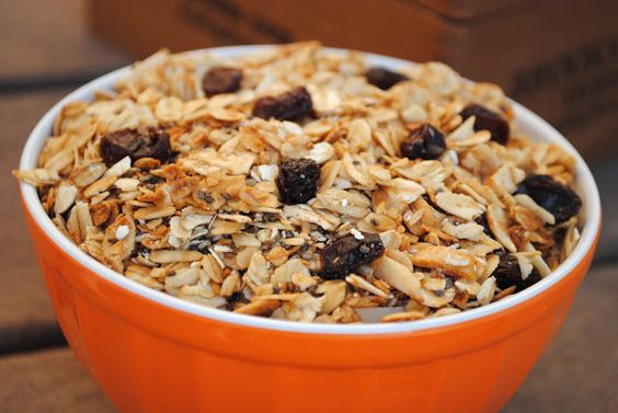 Fall Spiced Granola - Fit Foodie Finds