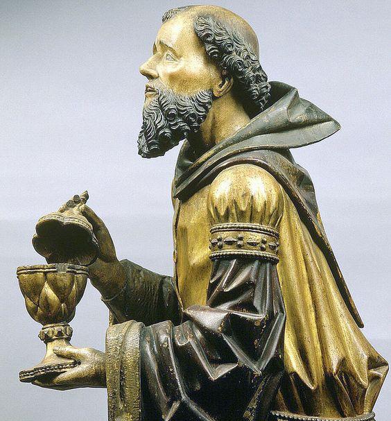 AGS-058A - Heilige drei Könige, Melchior detail 3a