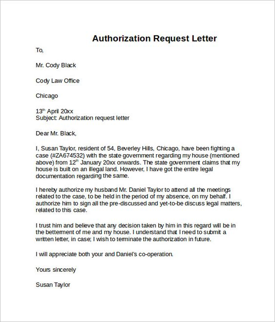 letter authorization download free documents pdf word format - survey template in word