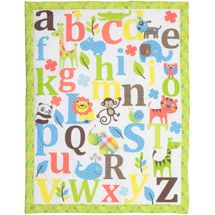 Walmart: Baby Boom - Mix 'N Match ABC Print Crib Bedding Comforter