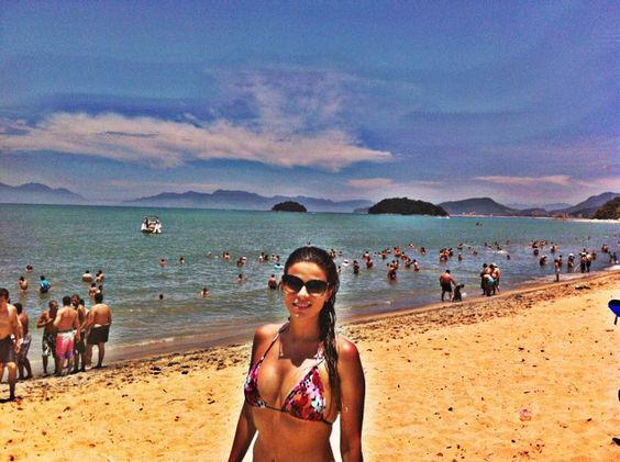 Praia da Mococa Caraguatatuba litoral Norte SP