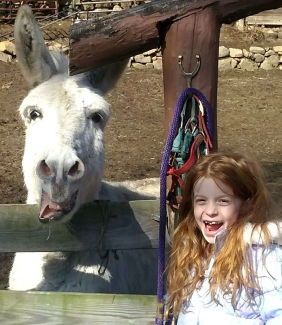 Frozen and Airica sharing a laugh