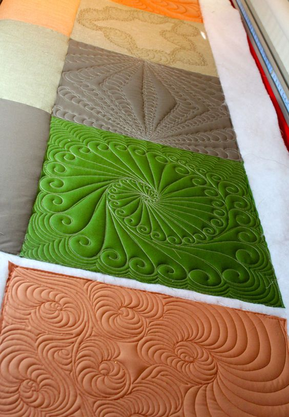 Free Range Quilting - Custom Long Arm Quilting - Long Arm Quilting Sampler  freerangequilting.com: