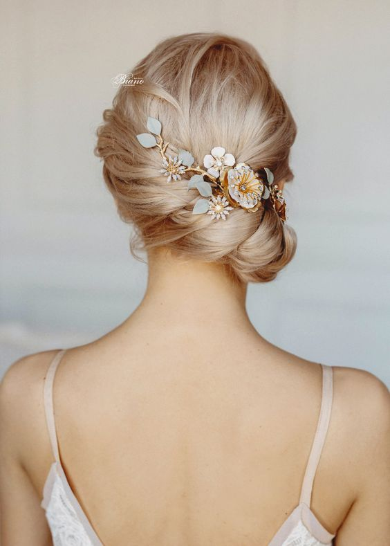 Perrine Blossom Hair Vine - Praise