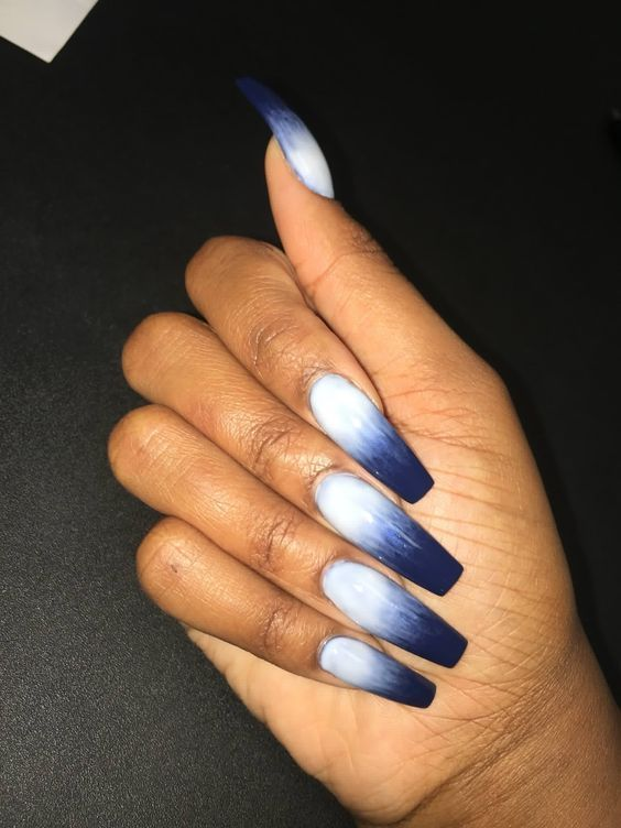 61 Acrylic Nail Designs For Fall And Winter Koees Blog Winter Nails Acrylic Acrylic Nail Designs Nail Designs