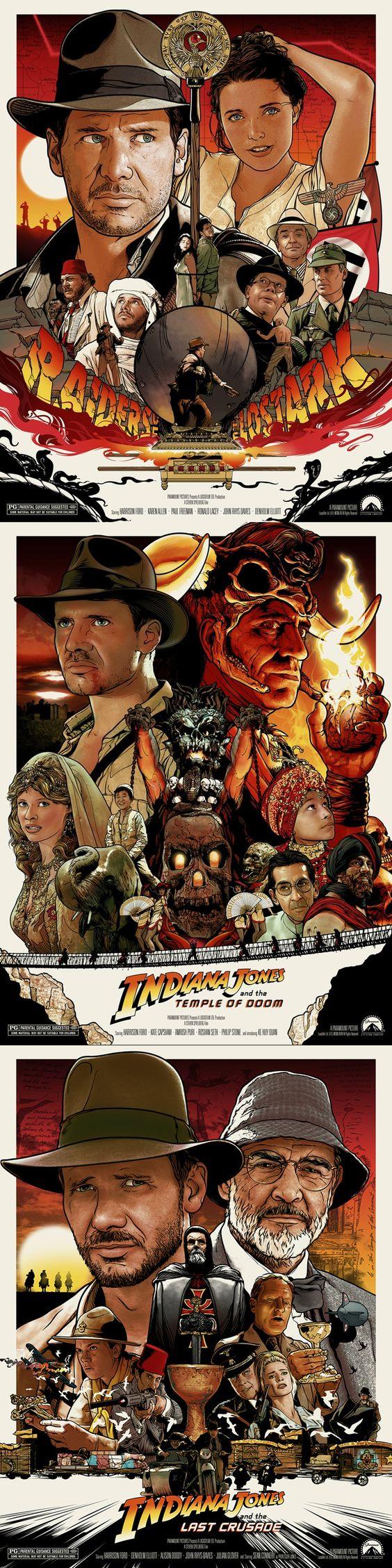Indiana Jones Series by Joshua Budich