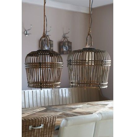 San Carlos Hanging Lamp s/2 € 299,- #rivieramaison #home #interior #decoration #lamp #living: