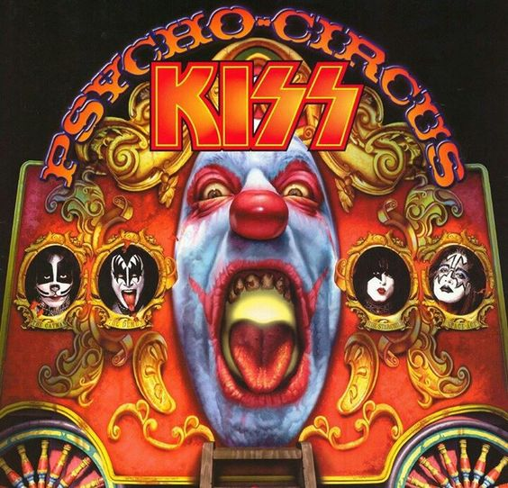 psycho circus kiss album awesome cover kiss�� 40 years