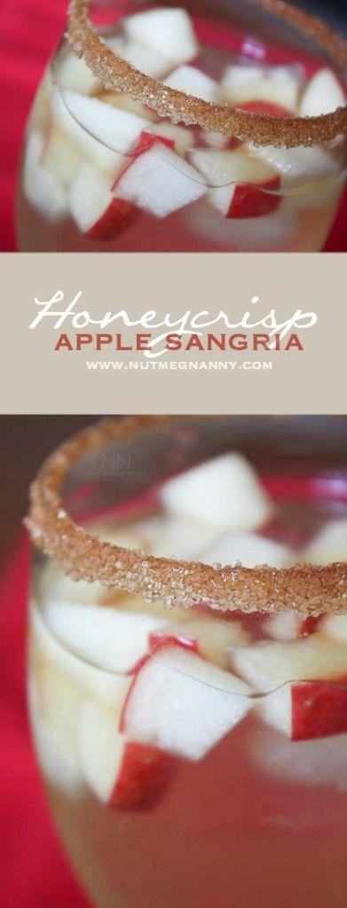 Apple sangria, Honeycrisp apples and Sangria on Pinterest