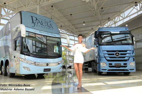 SÉRGIO JOSÉ- ÔNIBUS ALAGOAS: Mercedes Benz Entrega ônibus e Caminhão para a Pau...
