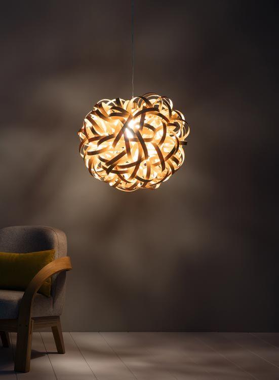 No 1 Pendant Giant Leuchte Design Leuchten Aus Holz In
