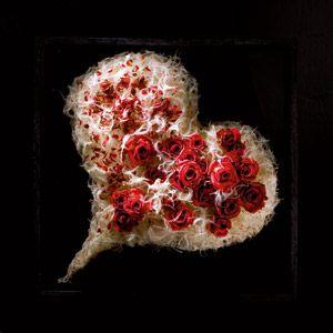 Flowers in the heart,    Moniek Vanden Berghe