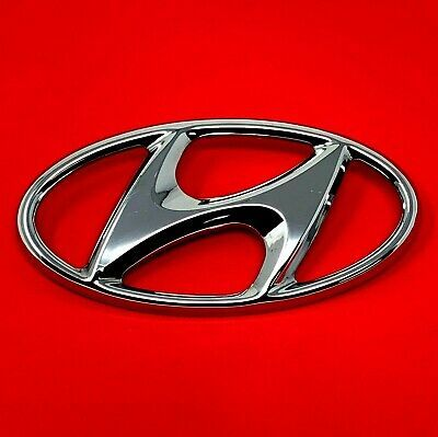 A Logo Fits Hyundai Sonata Santa Fe Hood Front Grille Emblem Logo Badge 10 11 12