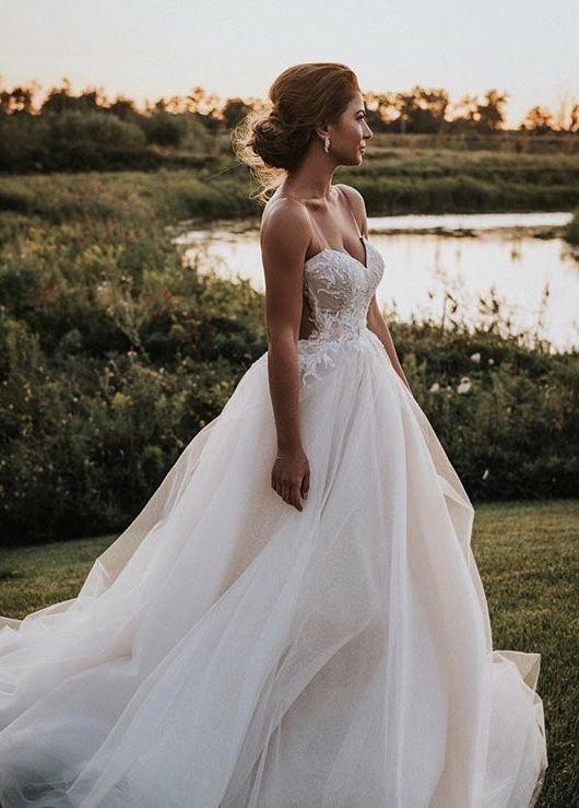 Ines Di Santo Whisper Wedding Dress Used Size 10 2 199
