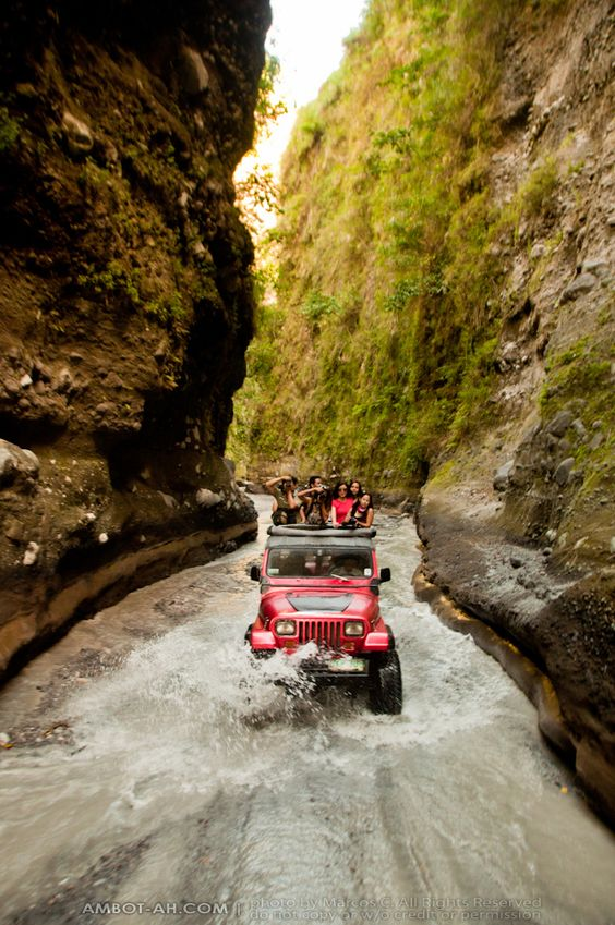 Pampanga 4×4 Jeep Ride over Lahar Landscapes of Sapang ...