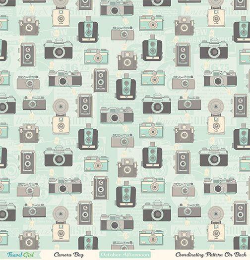 Travel Girl - Camera Bag (A)