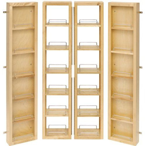 Rev A Shelf 12 W X 2 57 Inch Height Base Cabinet Swing Out Pantry Door Units Min Cabinet Opening 31 1 2 W X 12 1 2 D X 57 3 4 H 4wp18 57 Kit Rev A Shelf Pantry Organizers Pantry Door