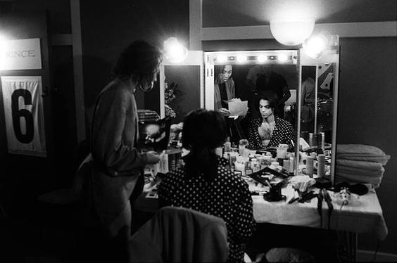 PRINCE IN HIS DRESSING ROOM