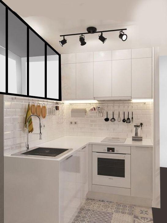 59 Simple Small Kitchen Design Ideas 2019 Kitchen 59 Simple Small Kitchen Design Ideas 2019 Kitchen Decor Kitchen Backsplash Kitchen Cabinets