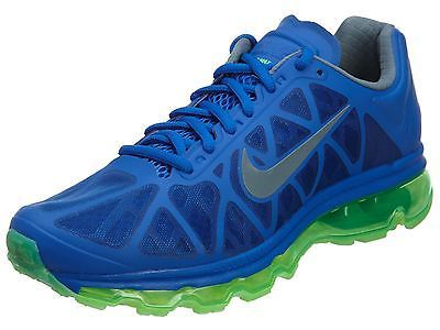 Nike Air Max 2011 Mens 684530-401 Blue Green Athletic Running Shoes Size 10.5