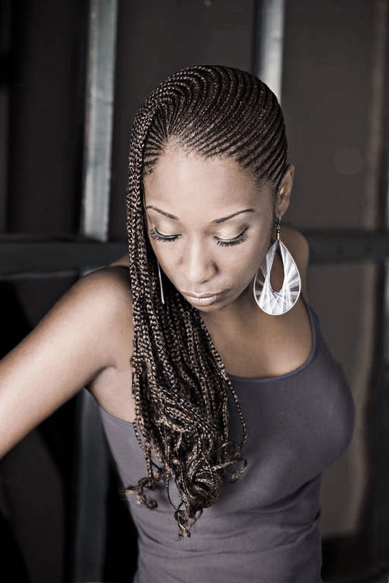 Astounding Beautiful Protective Styles And Rat Tail Comb On Pinterest Hairstyles For Women Draintrainus