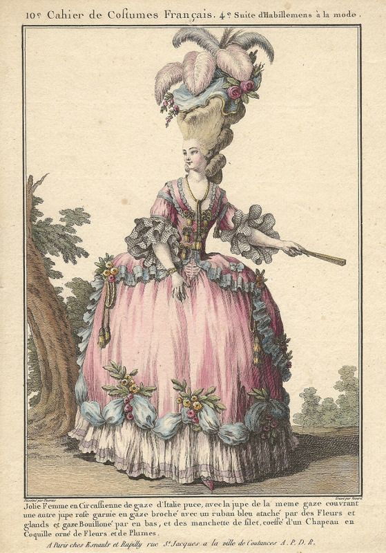 insanely ornate, but fun! Oh, what a hat.  And great hip camouflage.