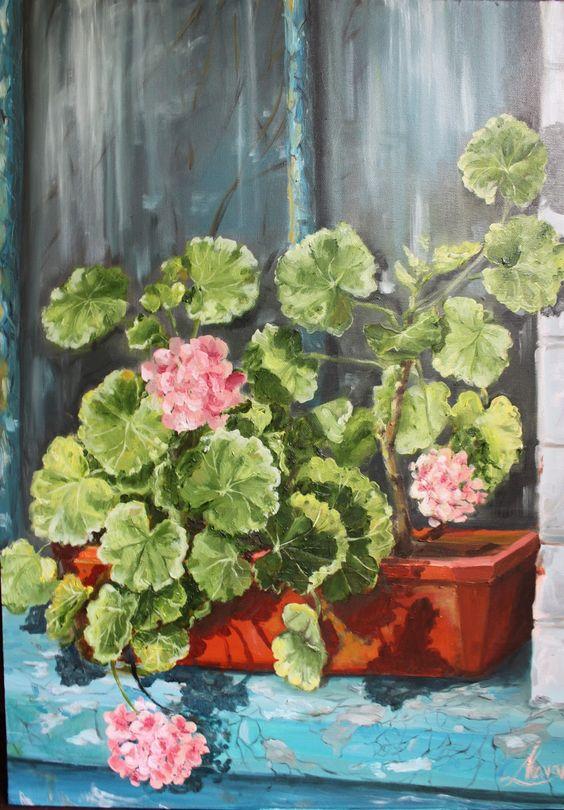 Lena Navarro, oil painting: