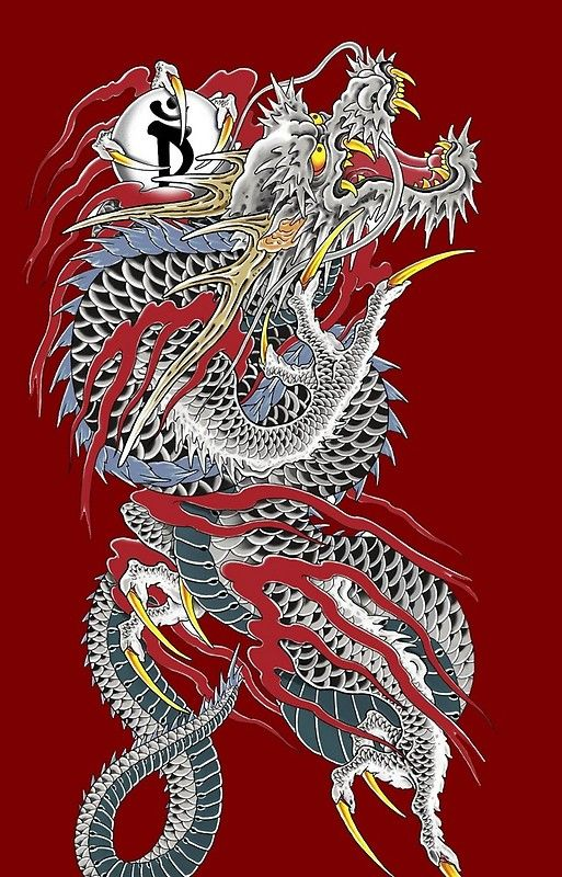 Yakuza Dragon Tattoo Iphone 11 Soft By Superbcase Dragon Tattoo Poster Dragon Tattoo Dragon Art